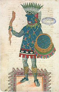 Pic 15: Tlaloc in the Codex Ixtlilxochitl