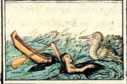 Pic 17: Drowing, Florentine Codex, Book XI.