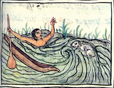 Pic 18: Drowing, Florentine Codex, Book XI.