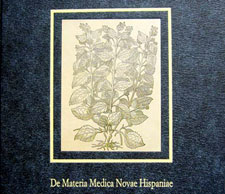 Sadly Hernández's original great work 'The Natural History of New Spain' was never published; some of the studies based on his work are inevitably incomplete