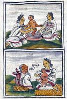 Pic 3: Florentine Codex, Book IV, Chapter XXXV