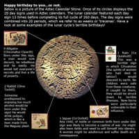 Pic 4: Some examples of the lunar cycle's terrible birthdays...!
