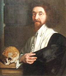 Pic 11: portrait of John Tradescant the Younger attributed to Thomas De Critz, National Portrait Gallery
