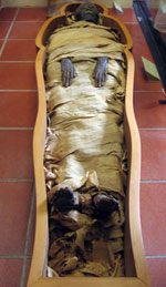 Pic 12: Egyptian mummy, Vatican Museums