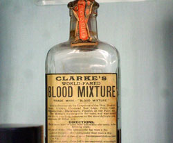 Pic 15: Blood remedy, 19th century, said to 'cleanse blood from all impurities'