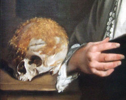 Pic 2: detail from Portrait of John Tradescant the Younger attributed to Thomas De Critz (National Portrait Gallery)