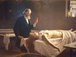Pic 4: '¡Y tenía corazón!' - anatomist after autopsy (1890) by Enrique Simonet y Lambardo (Museo de Málaga)