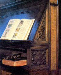 The Florentine Codex in its present home, the Biblioteca Medicea Laurenziana, Florence