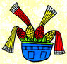 Pic 2: Corn graphic by John D. Starling based on image in Codex Borbonicus