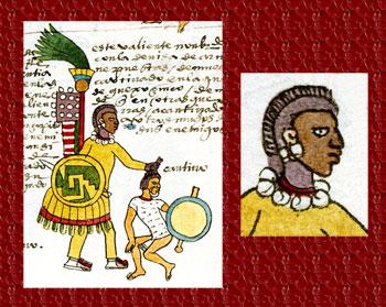 Pic 3: Quachic warrior, Codex Mendoza, folio 64r