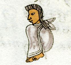 Pic 11: Youth, Codex Mendoza, folio 62r