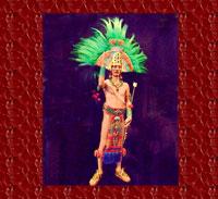 Model of Moctezuma II by George Stuart - photo by Mary Harrsch