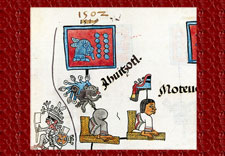 Ahuítzotl dies in the year 10-Rabbit (1502), Codex Telleriano-Remensis, facsimile edition by Eloise Quiñones Keber, 1995, folio 41r