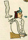 The emperor Tizoc in the Codex Mendoza