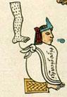 The emperor Tizoc in the Codex Mendoza