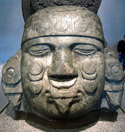 Stone figure of Coyolxauhqui, National Museum of Anthropology, Mexico City