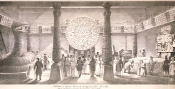 'Ancient and Modern Mexico' exhibition, London, 1824