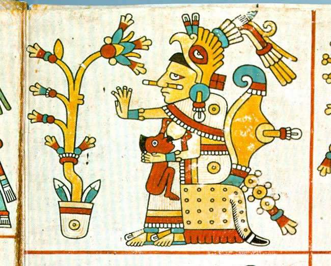 Aztec Gods And Goddesses Drawings
