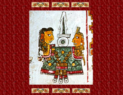 Pic 2: Couple making love, Codex Borgia