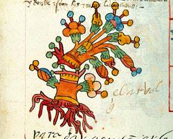Pic 5: Xochitlicacan, the tree of life, Codex Telleriano-Remensis