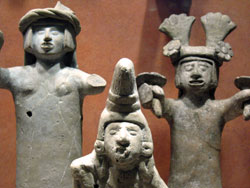 Pic 10: Images of Xochiquetzal in stone, National Museum of Anthropology, Mexico City