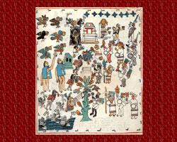 Pic 11: The festivities of Atamalqualiztli, Codex Primeros Memoriales