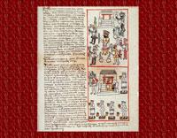 Pic 2: Folio 253r of the 'Primeros Memoriales' manuscript, describing the Izcalli festival