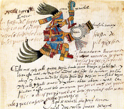 Pic 3: Folio 6v, Codex Telleriano-Remensis