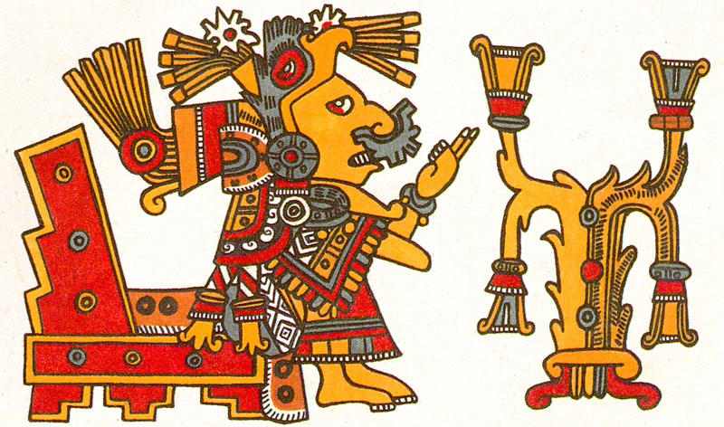 xochiquetzal 2 can you recognise her study this image of xochiquetzal    Xochiquetzal Aztec God