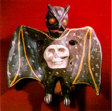 Bat mask from 'Mexican Masks' by Donald Cordry