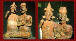 Pic 2: Funerary piece - couple in a ritual, Nayarit
