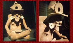 Pic 3: Anthropomorphic censer, Veracruz