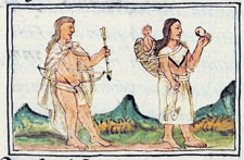 Pic 2: Chichimec family, Florentine Codex Book 10