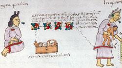Codex Mendoza, folio 57r