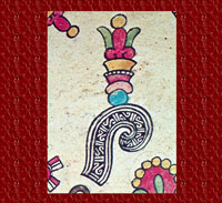 Elegant Náhuatl speech glyph, Codex Borbonicus, p. 4