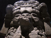 Pic 14: Stone monolith of Coatlicue, National Museum of Anthropology, Mexico City