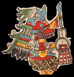 Tonan Tititl Cihuacóatl skull skirt, adapted from Codex Tudela