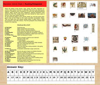 Our Activity Sheet 1 (colour version) on Aztec pictograms