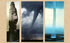 Pic 7: The Aztec Wind God: super powerful twister...!