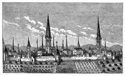 Pic 7: Dortmund - a town in the centre of Europe in the Middle Ages