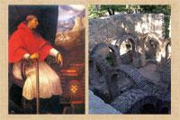 Pic 12: Cardinal Cisneros; the ruins of the Moorish Baths at Ronda