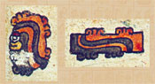 Pic 9: Stone and stick, adapted from the Codex Borbonicus, folio 3