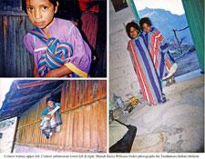Some of Mariah's photos of Tarahumara children