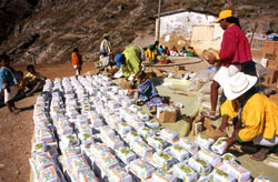 Food aid deliveries for Tarahumara communities hit by serious drought