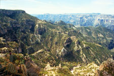The Copper Canyon landscape