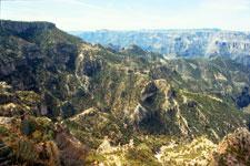 The Copper Canyon landscape