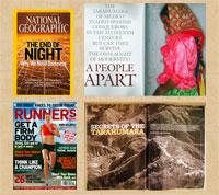 Welcome articles on the Tarahumara in National Geographic Magazine and Runner's World magazine (November 2008)