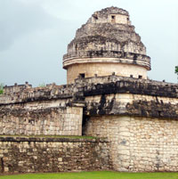 The Observatory building, Chichén Itzá