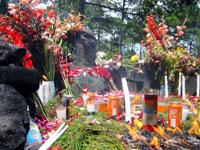 Maya altar offerings