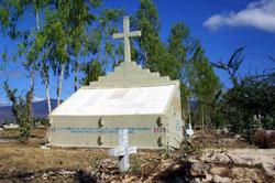 Cemetery in Rabinal, Guatemala